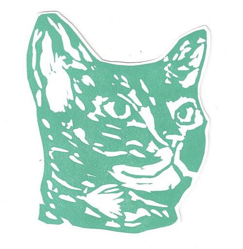 Megan Stein cat prints (www.megantamarastein.com)