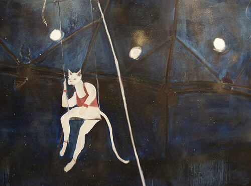 "Megan Stein ""Cat on a Hot Tin Swing"" (www.megantamarastein.com)"