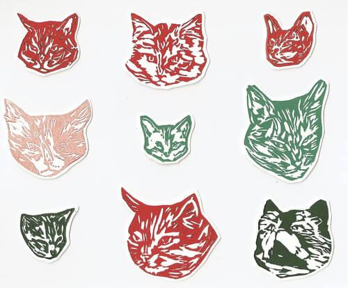 "Megan Stein ""SNAP Cats"" (www.megantamarastein.com)"